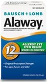 Bausch + Lomb Alaway Allergy Eye Itch Relief Drops -  0.34 oz