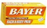 Bayer Back & Body Pain Extra Strength Caplet - 50