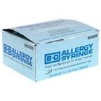 "BD Allergy Syringe 28 Gauge, 1cc, 1/2"" Needle - 100 Count"