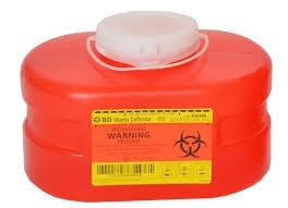 BD Sharps Container Small 3.3qt