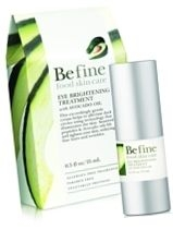 Be Fine Food Skin Care Eye Brightening Treatment with Avocado Oil .5oz