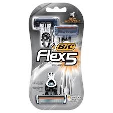 Bic Flex 5 Razors- 3ct