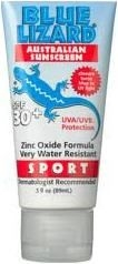 Blue Lizard Sport Australian Sunscreen SPF 30+ (3oz Bottle)