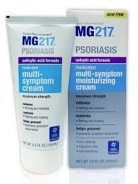 MG217 Psoriasis Maximum Strength Medicated Multi-Symptom Moisturizing Cream - 3.5oz