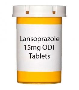 Lansoprazole 15mg ODT Tablets