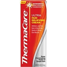 ThermaCare Ultra Pain Relieving Cream- 4oz