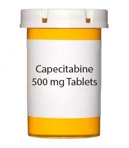 Capecitabine 500 mg Tablets