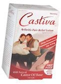 Castiva Warming Arthritis Pain Relief Lotion  4 OZ- DISCONTINUED