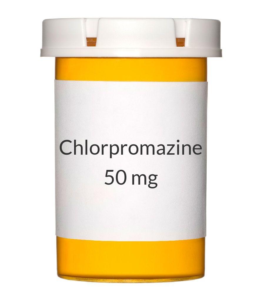 Chlorpromazine 50mg Tablets