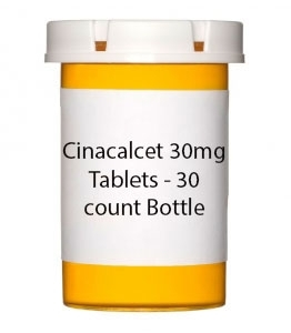Cinacalcet 30mg Tablets - 30 count Bottle