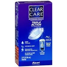 Clear Care Cleaning & Disinfecting Solution- 3oz