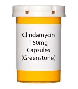 Clindamycin 150mg Capsules (Greenstone)
