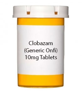 Clobazam 10mg Tablets