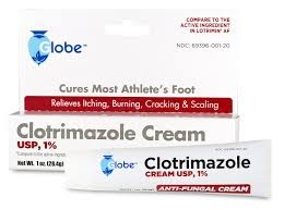 Globe Clotrimazole Cream USP 1% - 1oz