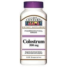 21st Century Colostrum 500 mg Capsules - 120ct