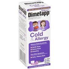 Children's Dimetapp Cold & Allergy, Grape- 4oz