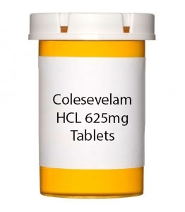 Colesevelam HCL 625mg Tablets