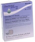 "Convatec 187955 DuoDERM Xtra Thin CGF Dressings 4"" x 4"" (10 Count Box)"