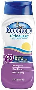 Coppertone UltraGuard Sunscreen Lotion (SPF 50) - 8 oz