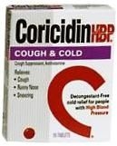 Coricidin HBP Cough&Cold Tablet 16 ct