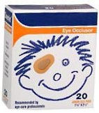 Coverlet Eye Occlusor Pads Junior 1-7/8 Inches X 2-1/2 Inches  20ct