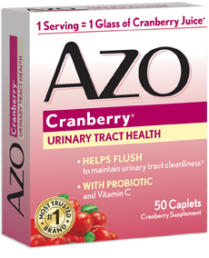 AZO Cranberry with Immune Boosting Probiotic & Vitamin C Tablet - 50ct