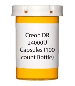 Creon DR 24000U Capsules (100 count Bottle)