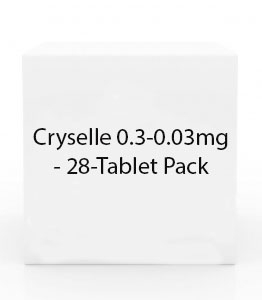 Cryselle 0.3-0.03mg Tablets - 28 Tablet Pack