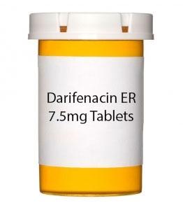 Darifenacin ER 7.5mg Tablets