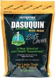 Dasuquin Soft Chews W/MSM for Large Dogs(60 lbs and over)-150 Count Pouch