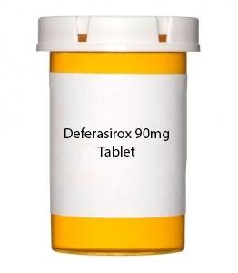Deferasirox 90mg Tablet