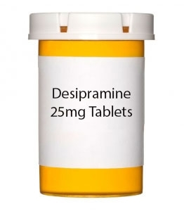 Desipramine 25mg Tablets