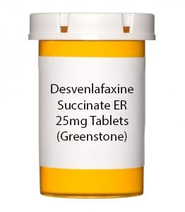 Desvenlafaxine Succinate ER 25mg Tablets (Greenstone)