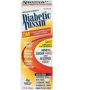 Diabetic Tussin DM Expectorant Cough Supressant - 4 fl. oz.