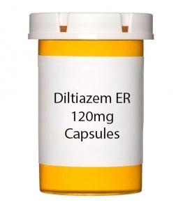 Diltiazem ER 120mg Capsules (Generic Tiazac)