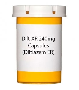 Dilt-XR 240mg Capsules (Diltiazem ER)