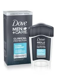 Dove Men+Care Clinical Protection Antiperspirant & Deodorant, Clean Comfort- 1.7oz