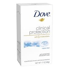 Dove Clinical Protection Anti-Perspirant/Deodorant Prescription Strength Original Clean 1.7 Ounces
