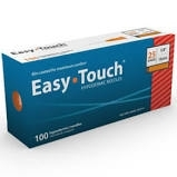 "EasyTouch Hypodermic Needle, 25 Gauge, 5/8"" - 100ct"