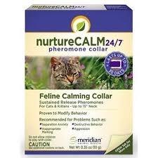 NurtureCalm 24/7 Pheromone Collar, Feline Calming Collar
