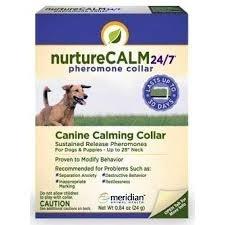NurtureCalm 24/7 Pheromone Collar, Canine Calming Collar