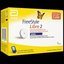 Freestyle Libre 2 Sensor Kit - Carton of One- Prescription Required