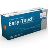 "EasyTouch Hypodermic Needle, 23 Gauge, 1"" - 100ct"