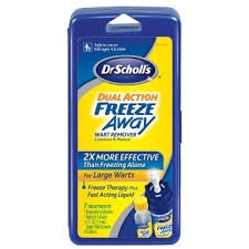 Dr. Scholl's Dual Action FreezeAway Wart Remover- 7ct