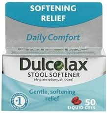 Dulcolax Stool Softener Liquigel- 50ct