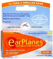 Earplanes Ear Plugs Children - 1pr