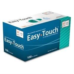 "EasyTouch Pen Needle 32 Gauge, 3/16"" - 100ct"