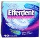 Efferdent Denture Cleanser - 40 Tablets