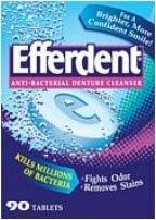 Efferdent Denture Cleanser - 90 Tablets