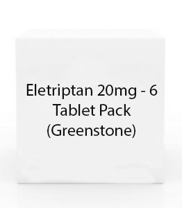 Eletriptan 20mg - 6 Tablet Pack (Greenstone)